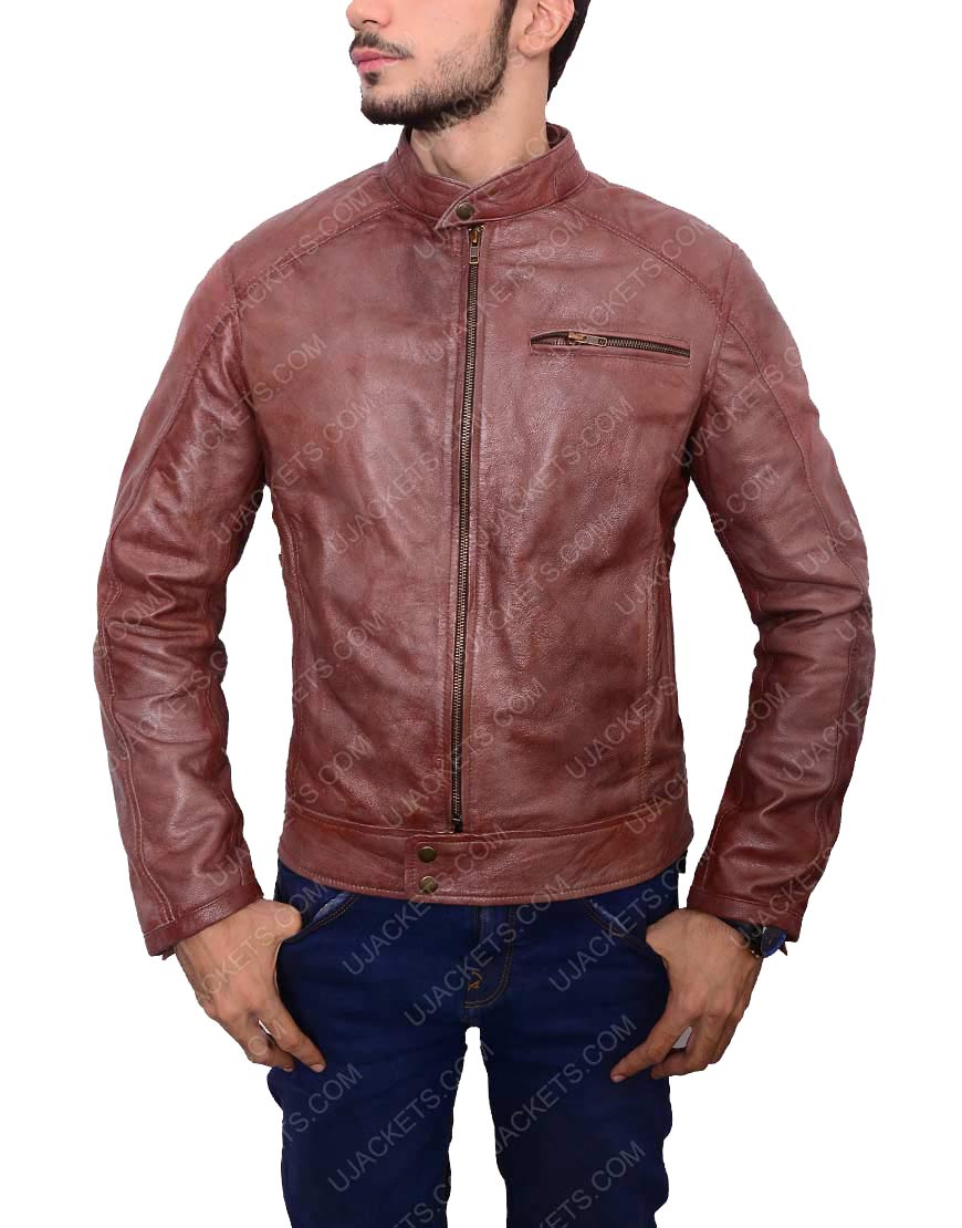 Scott Eastwood Brown Jacket