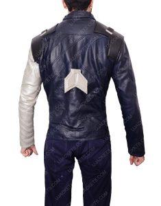bucky barnes infinity war black leather jacket