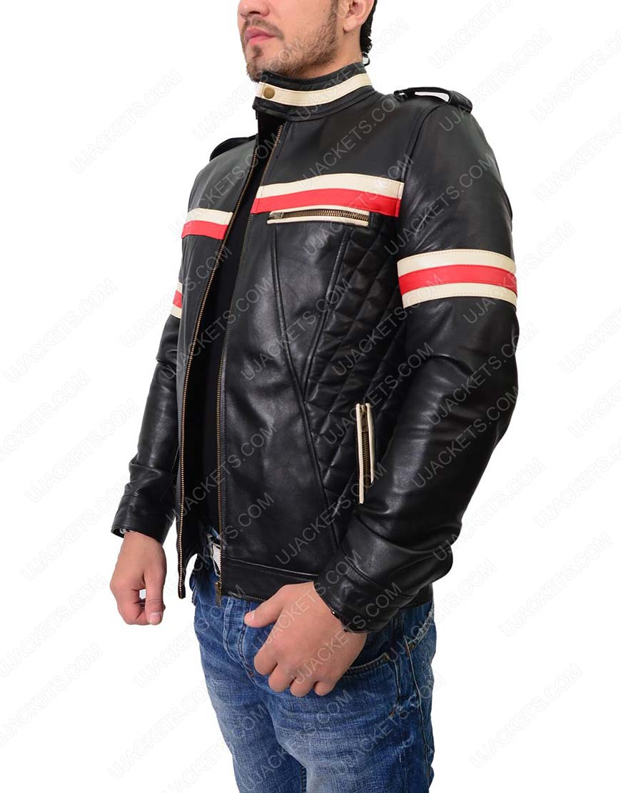 mens-red-white-striped-motorcycle-jacket