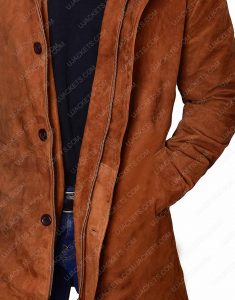 Robert Shariff Brown Coat