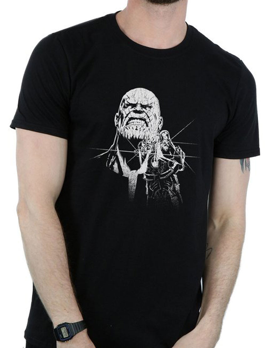 half price premium selection price Thanos Fierce T-Shirt from Avengers infinity war