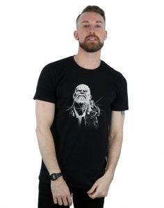 infinity war fierce thanos t-shirt