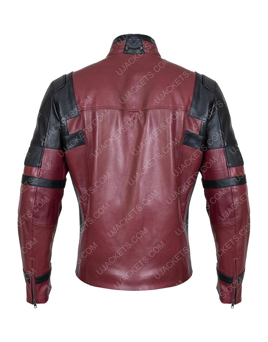 Ryan Reynolds Deadpool 2 Motorcycle Jacket