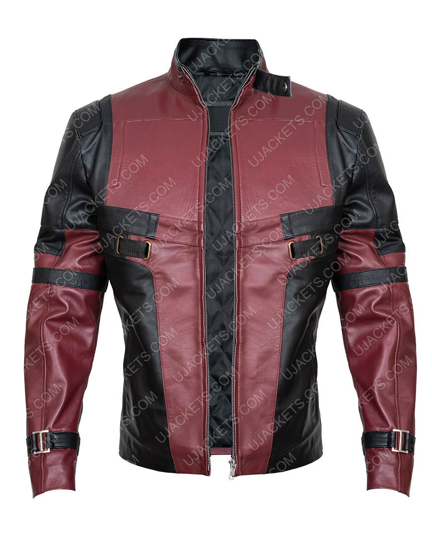 Ryan Reynolds Deadpool Motorcycle Jacket