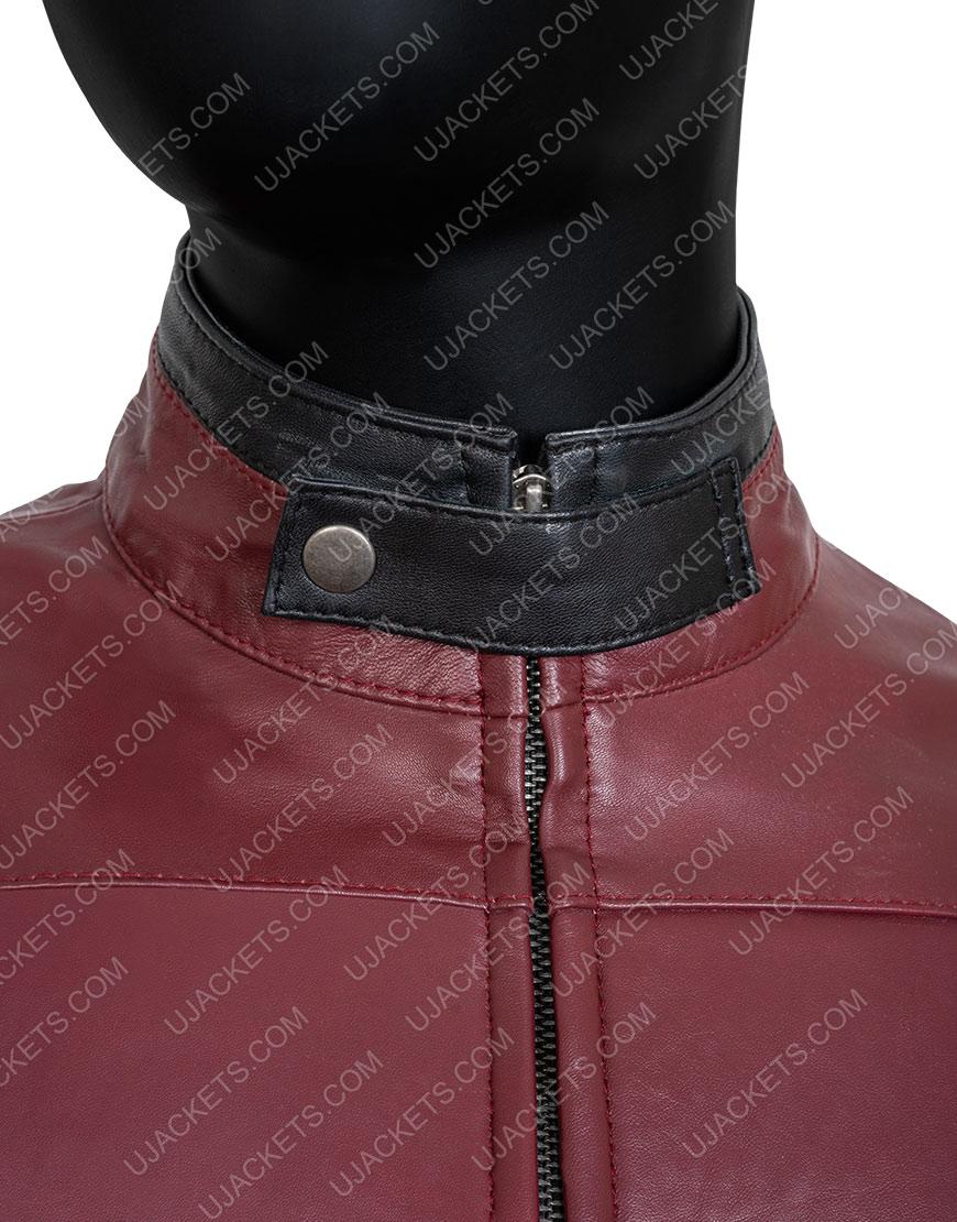 Wade Wilson Deadpool 2 Leather Motorcycle Jacket