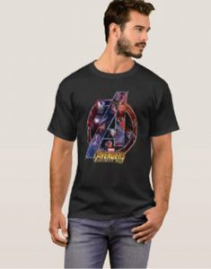 Heroes In A Icon Shirt aInfinity War