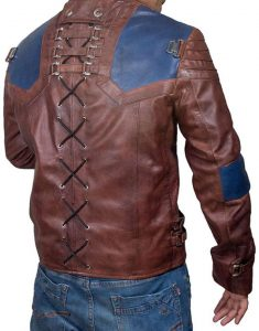 CAMERON CUFFE KRYPTON SERIES LEATHER JACKET