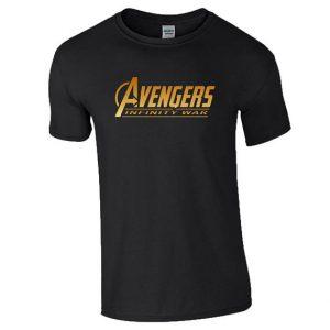 Avengers Infinity War Black Shirt