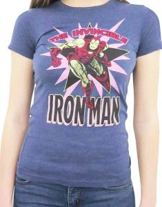 Iron Man T Shirt Women's