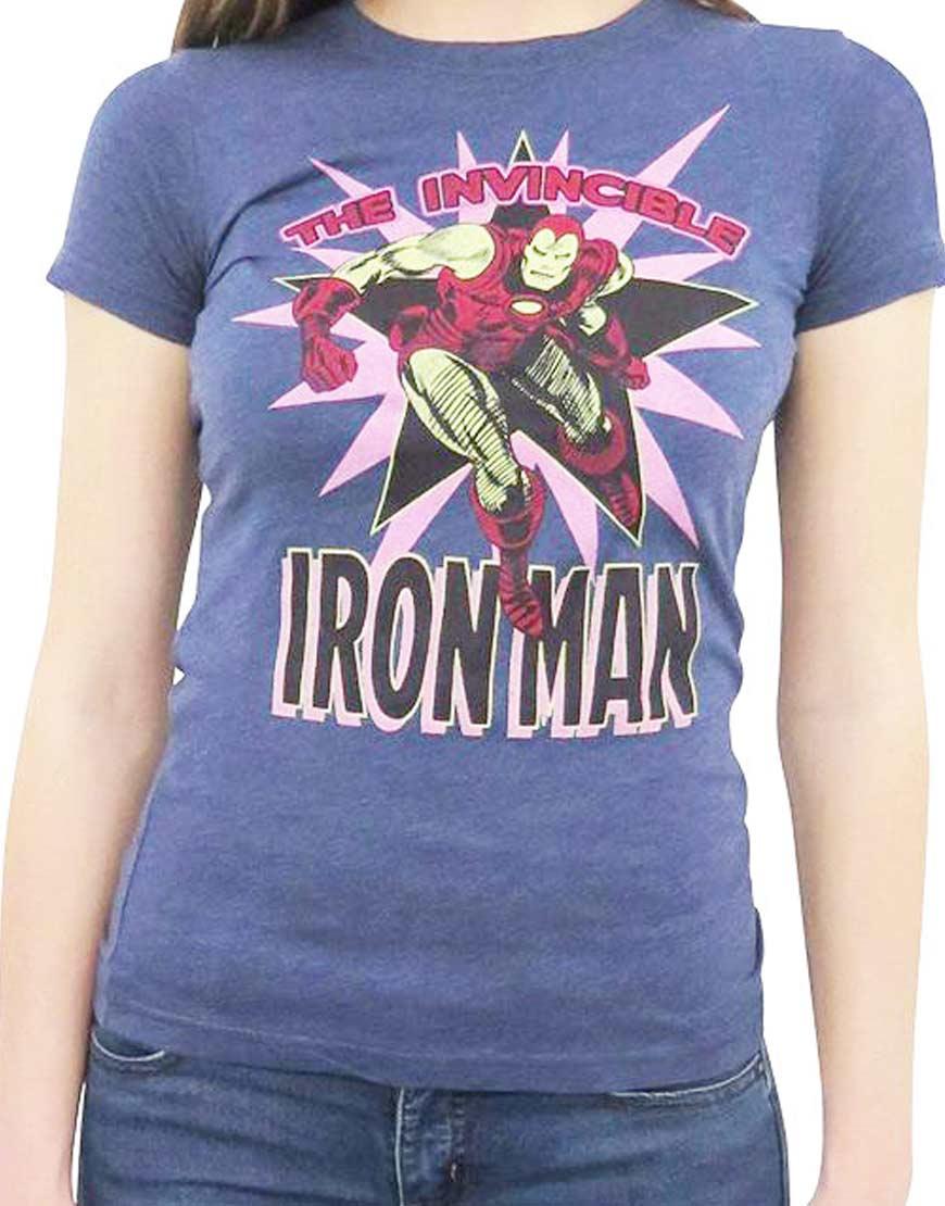 Iron Man T Shirt Women's