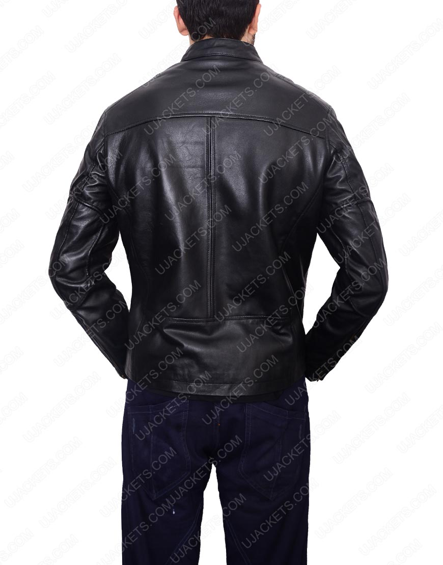 James Kirk Chris Pine Star Trek Leather Jacket