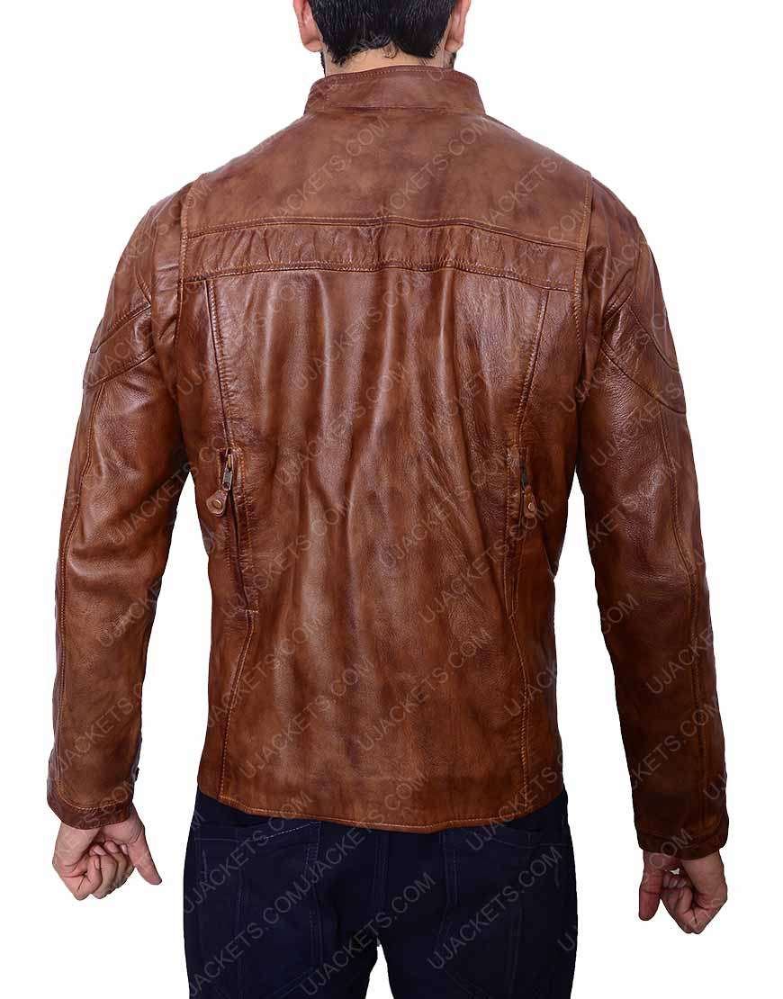 Men Brown Jacket