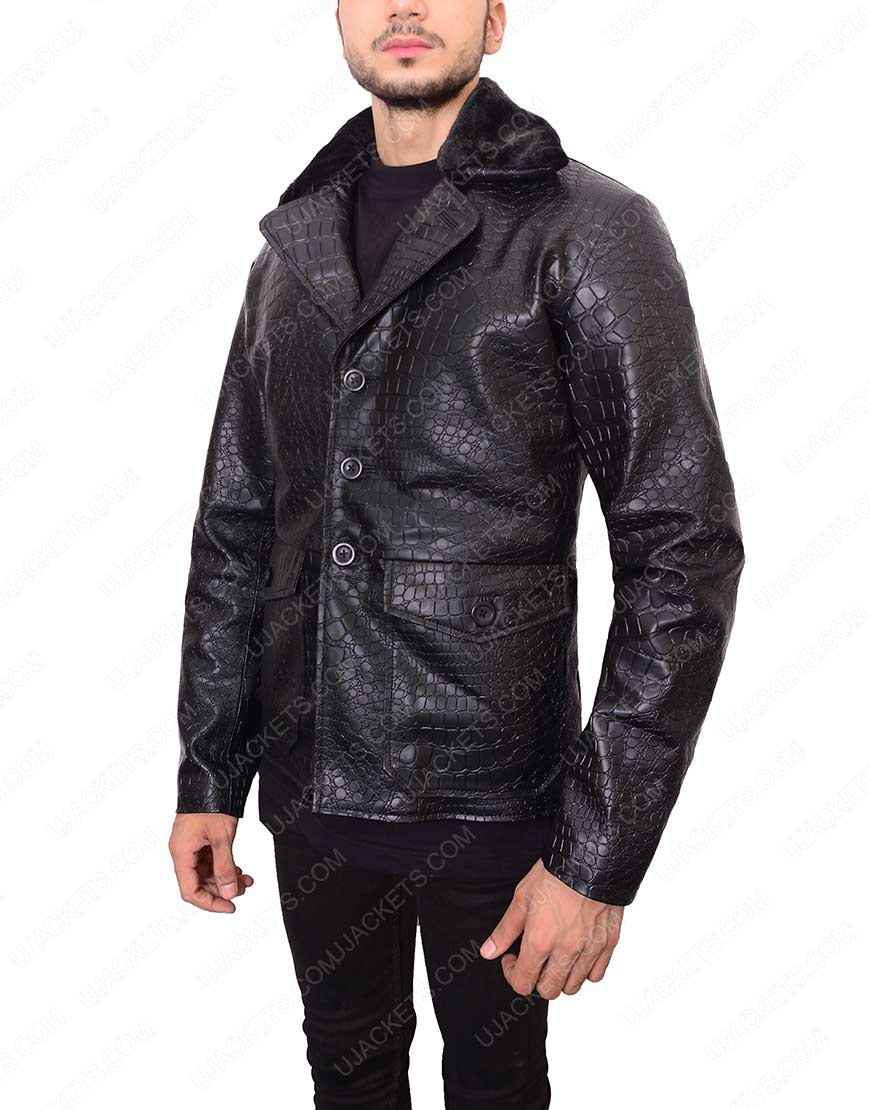 embossed-black-leather-crocodile-jacket