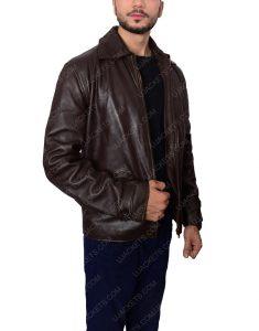 Skyfall Daniel Craig James Bond brown jacket