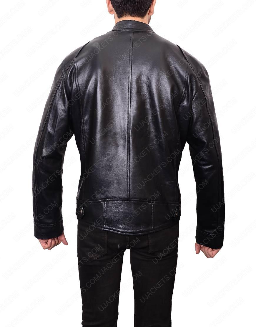 Mens Black Double Pocket