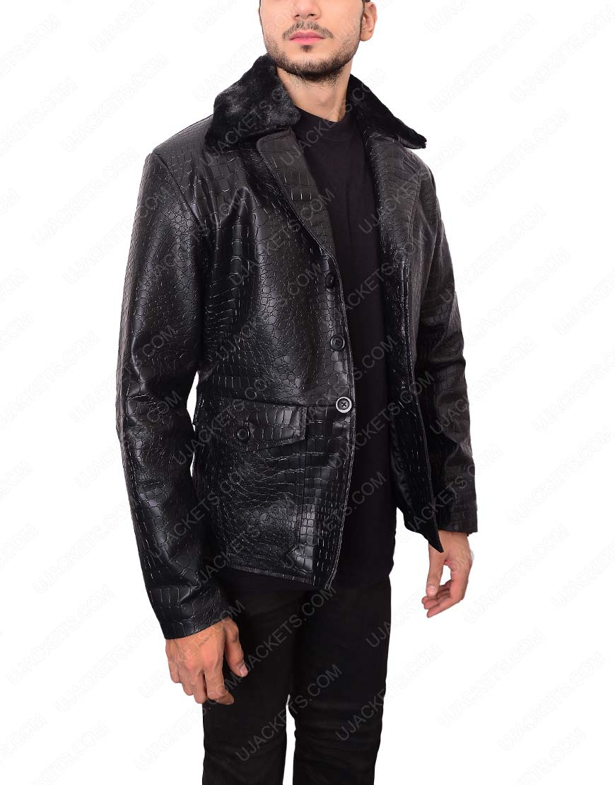 embossed-black-leather-jacket