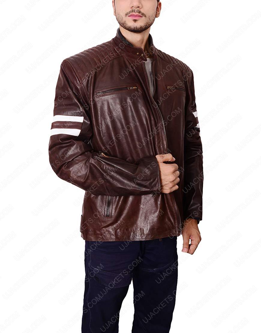 joe rocket 92 brown jacket