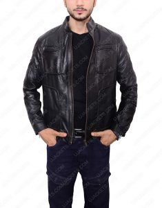 star trek leather jacket