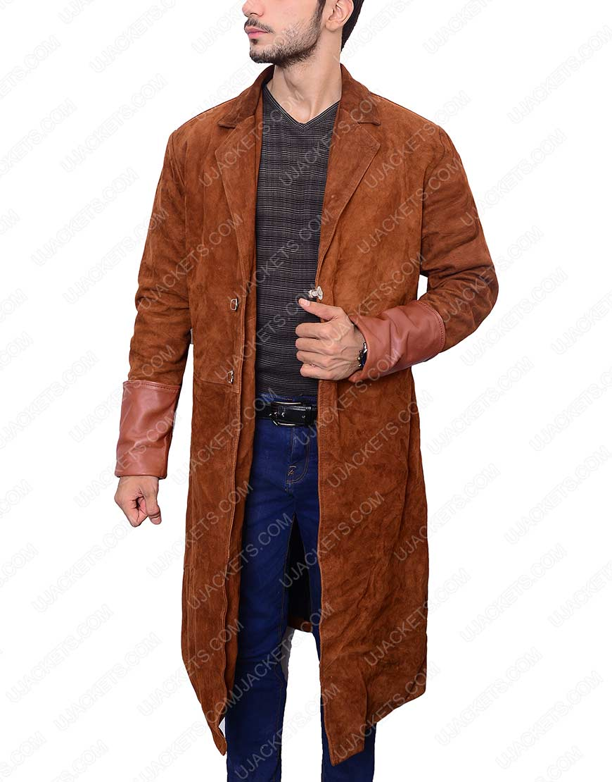 firefly leather coat
