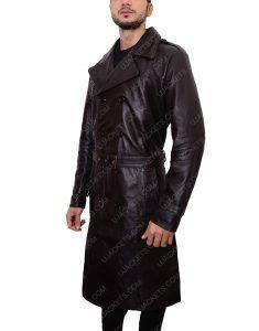 Mystic River Sean Penn Leather Coat