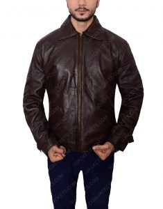 Skyfall Daniel Craig James Bond leather jacket