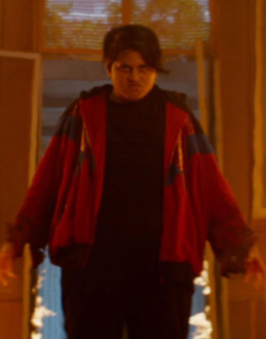 deadpool 2 julian dennison red hoodie