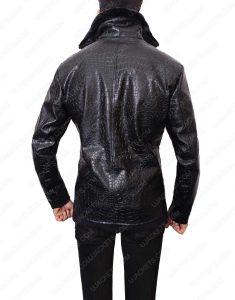 embossed crocodile jacket