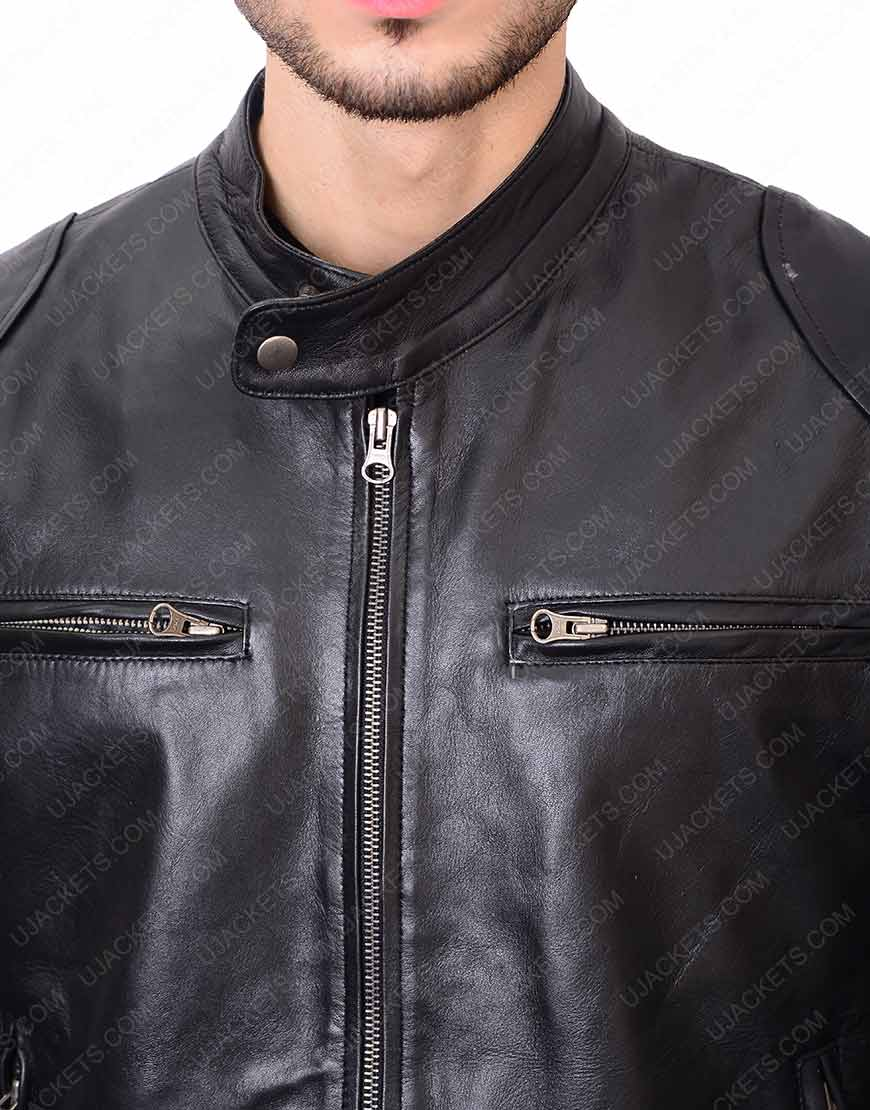 Mens Black Pocket jacket