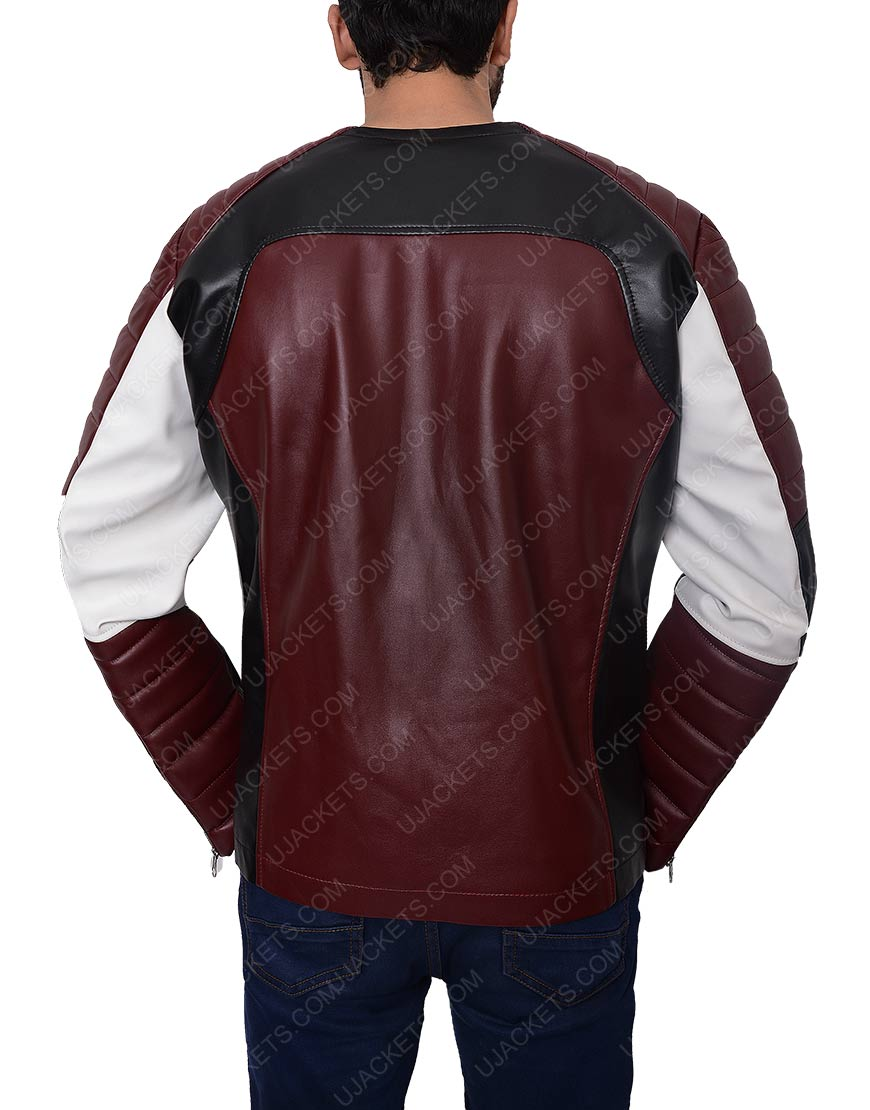 Motorcycle zipper jacket