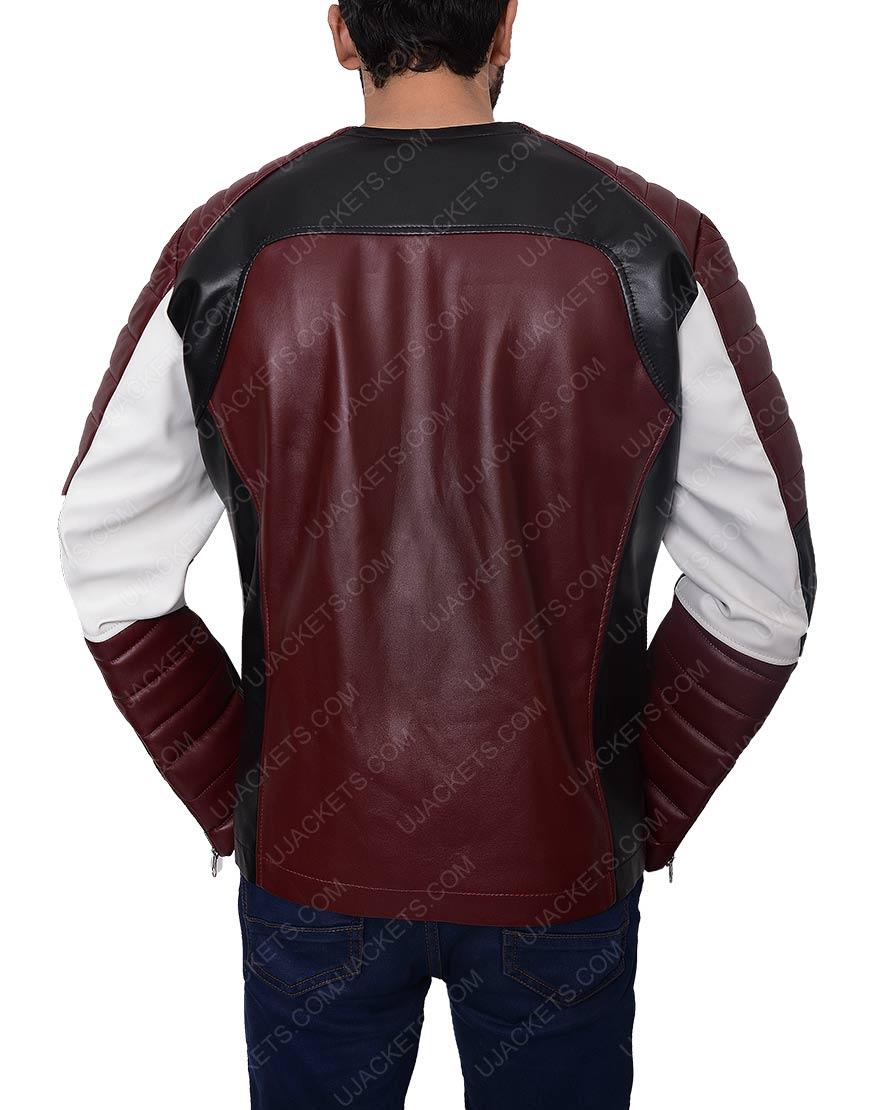 Motorcycle zipper jacket