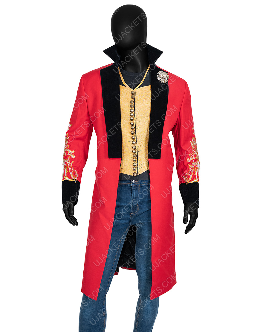 The Greatest Showman P.t. Barnum Hugh Jackman Coat With Vest