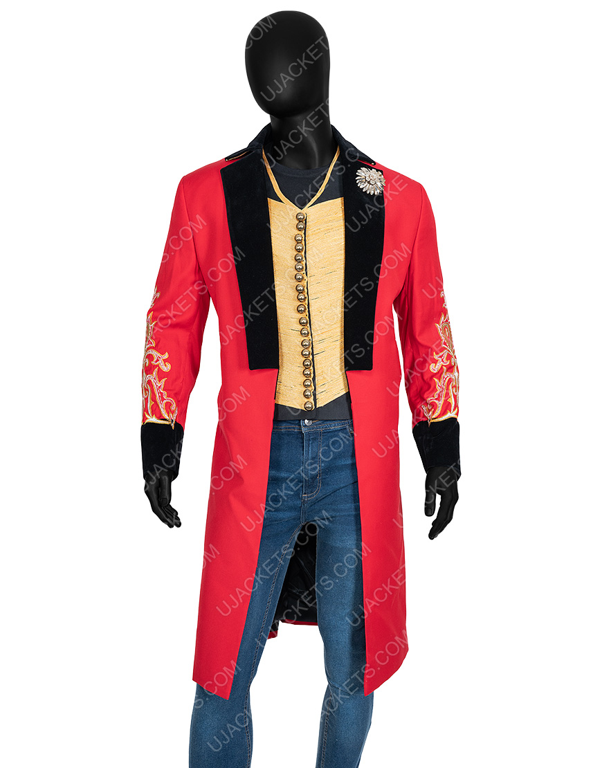 The Greatest Showman P.t. Barnum Hugh Jackman Coat