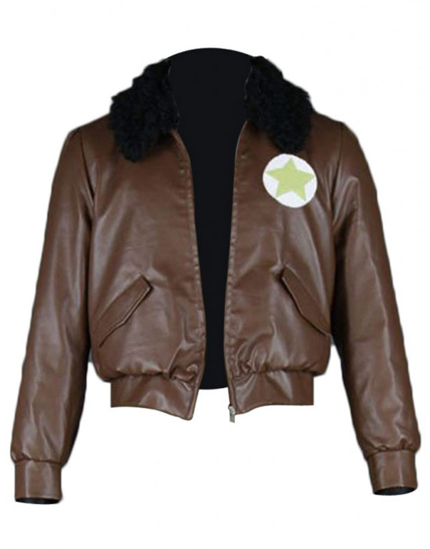 hetalia america brown leather jacket