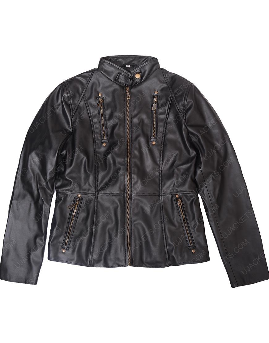 Homeland Claire Danes Leather Jacket