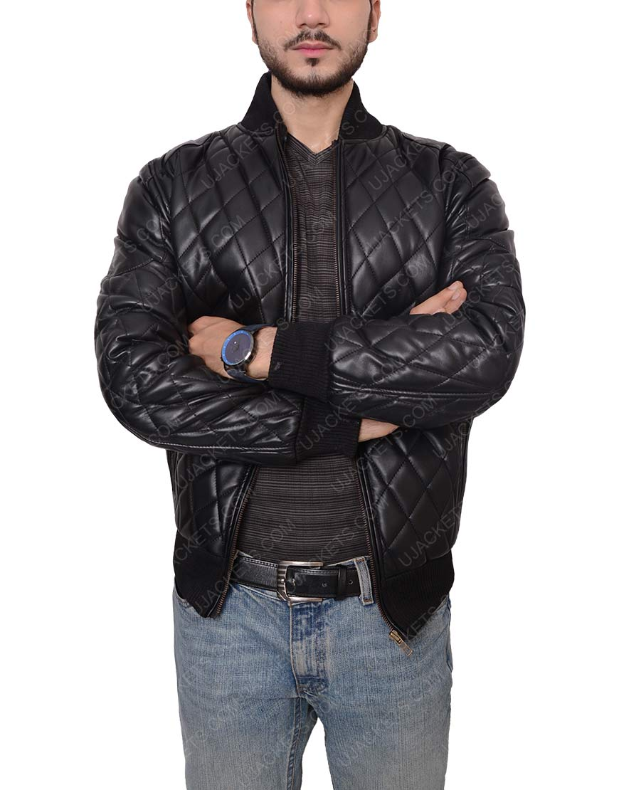 mens-slim-fit-zipper-quilted-black-biker-jacket