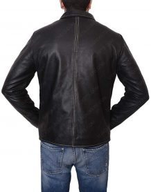 layer cake leather jacket