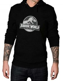 jurassic world fallen kingdom black hoodie