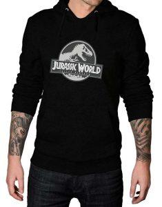 jurassic world fallen kingdom black hoodie
