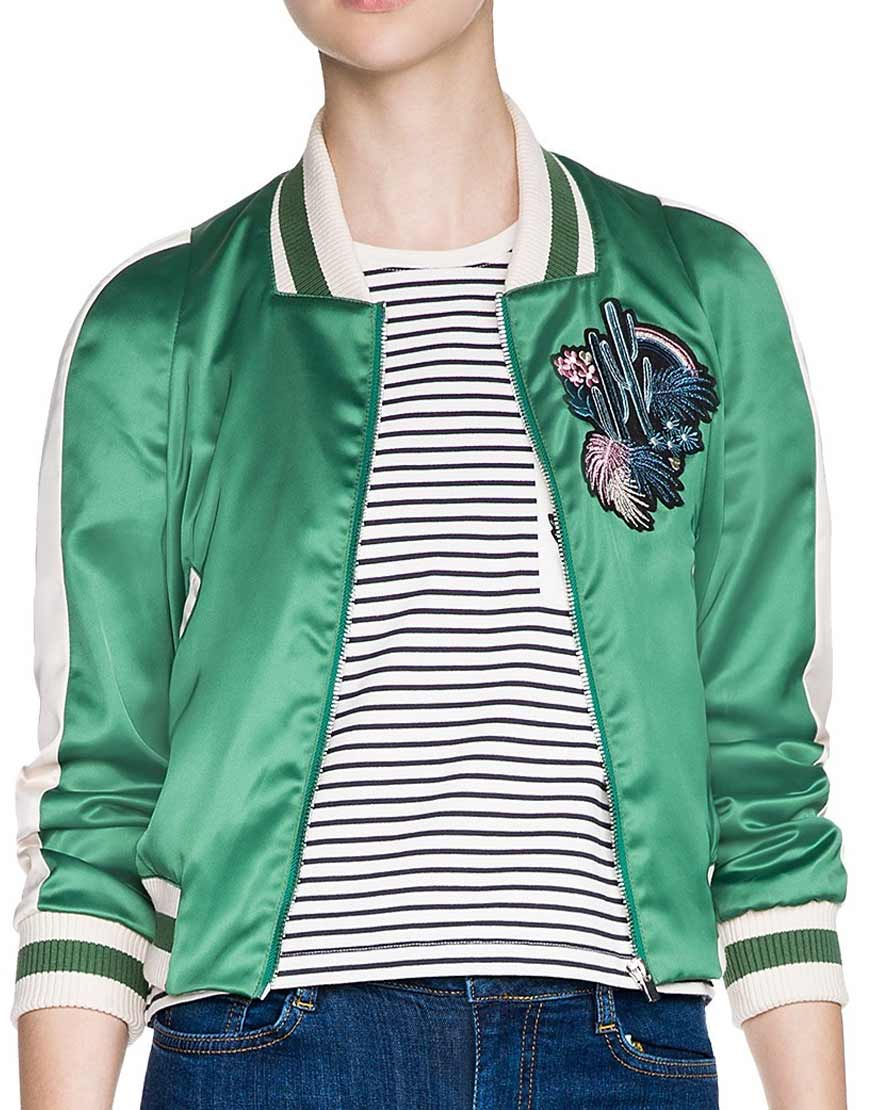 eleanor shellstrop varsity jacket