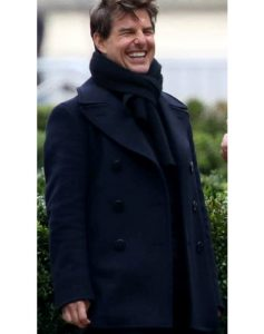 Tom Cruise Wool Coat, Mission Impossible 6 Tom Cruise Wool Coat