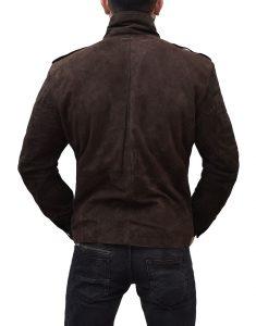 Christian Grey Leather Jacket