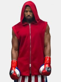 reed II Michael B. Jordan Hooded Vest