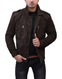 Fifty Shades Darker Christian Grey Leather Jacket