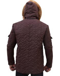 Hoth Parka Brown Fur Hooded Jacket