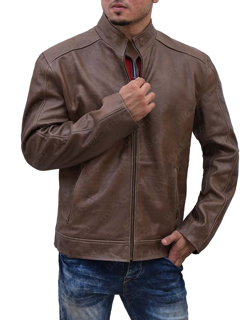 Matt Damon Jason Bourne Leather Jacket
