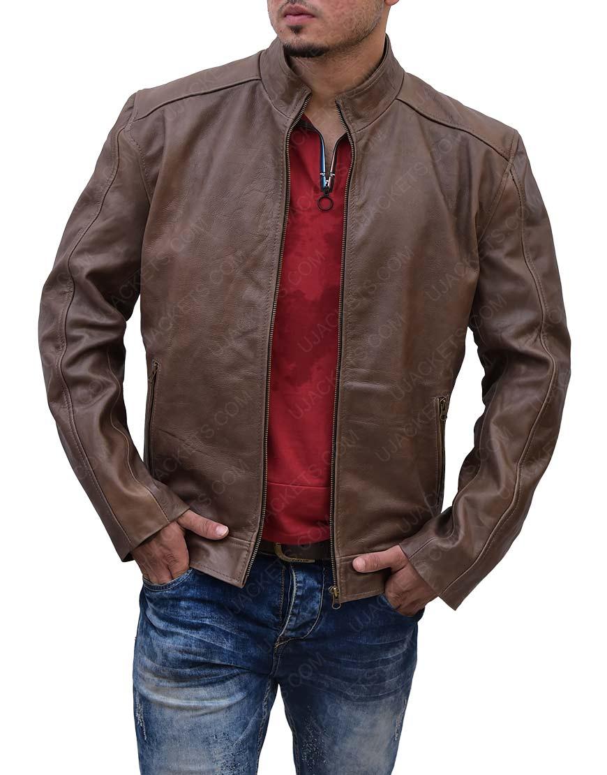 Matt Damon Leather
