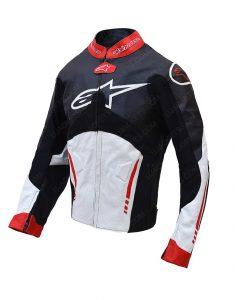 Mens Racing Alpinestars Atem Leather Jacket