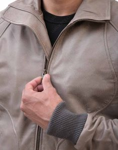 Morto biker Ryan Reynolds Leather Jacket