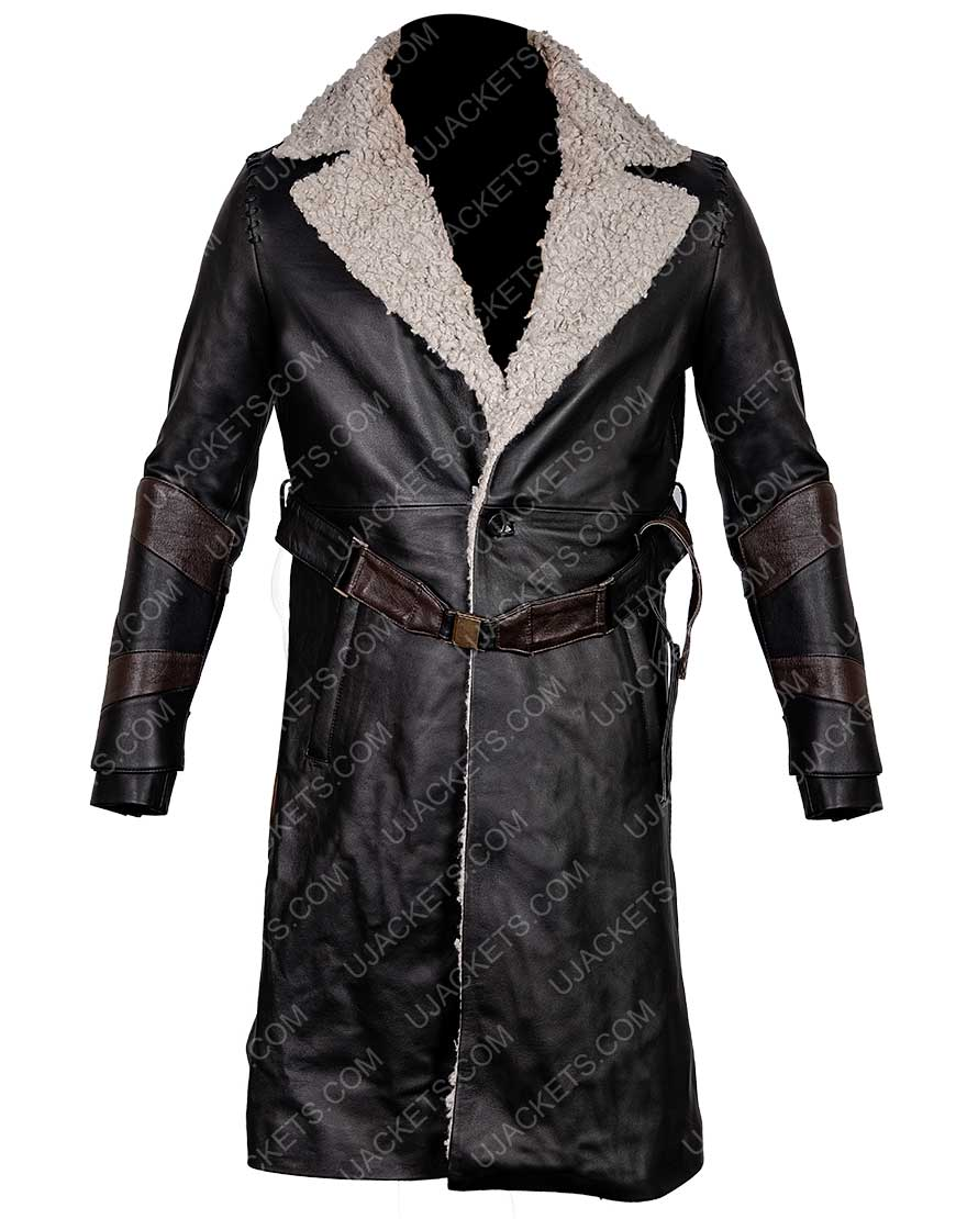 Nils Lindstrom Mortal Engines Leifur Sigurdarson Coat