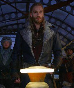 Nils Lindstrom Mortal Engines Leifur Sigurdarson Coat